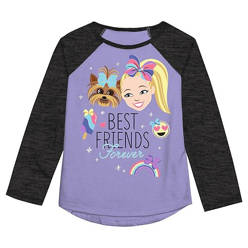 "Girls 4-12 Jumping Beans® Jojo Siwa ""Best Friends Forever"" Graphic Tee"