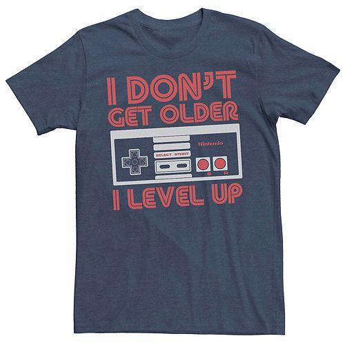 Men's Nintendo Controller I Don't Get Older I Level Up Tee