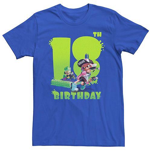 Men's Nintendo Splatoon 18th Birthday Tee