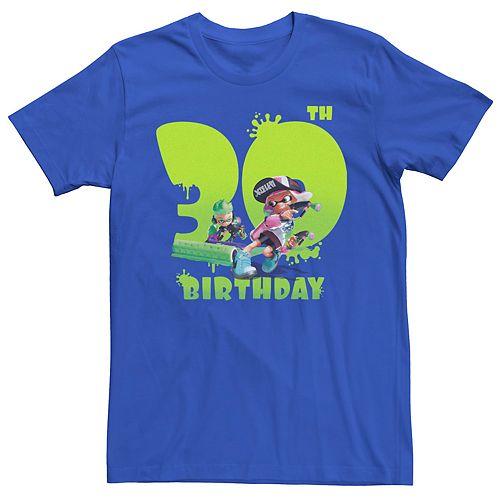 Men's Nintendo Splatoon 30th Birthday Tee