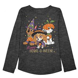 """Girls 4-12 Jumping Beans® Paw Patrol Chase, Marshall & Skye """"Happy Howl-O-Ween"""" Graphic Tee"""