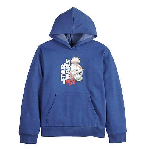 Boys 8-20 Star Wars Episode 9 Graphic Pullover Hoodie