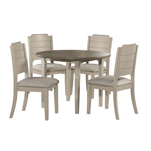 Hillsdale Furniture Clarion 5-Piece Drop Leaf Dining Set