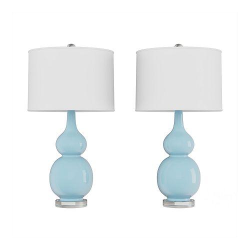 Double Gourd Table Lamp 2-piece Set
