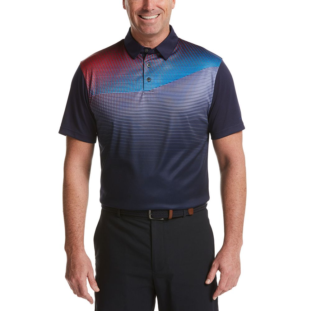 Men's Grand Slam DriFlow Classic-Fit Performance Golf Polo