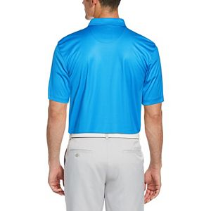 Men's Grand Slam MotionFlow Classic-Fit Gingham Performance Golf Polo