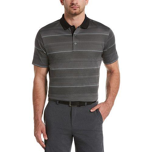 Men's Grand Slam DriFlow Classic-Fit Jacquard Performance Golf Polo