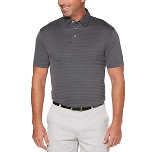 Men's Grand Slam DriFlow Classic-Fit Jacquard Performance Golf Polo