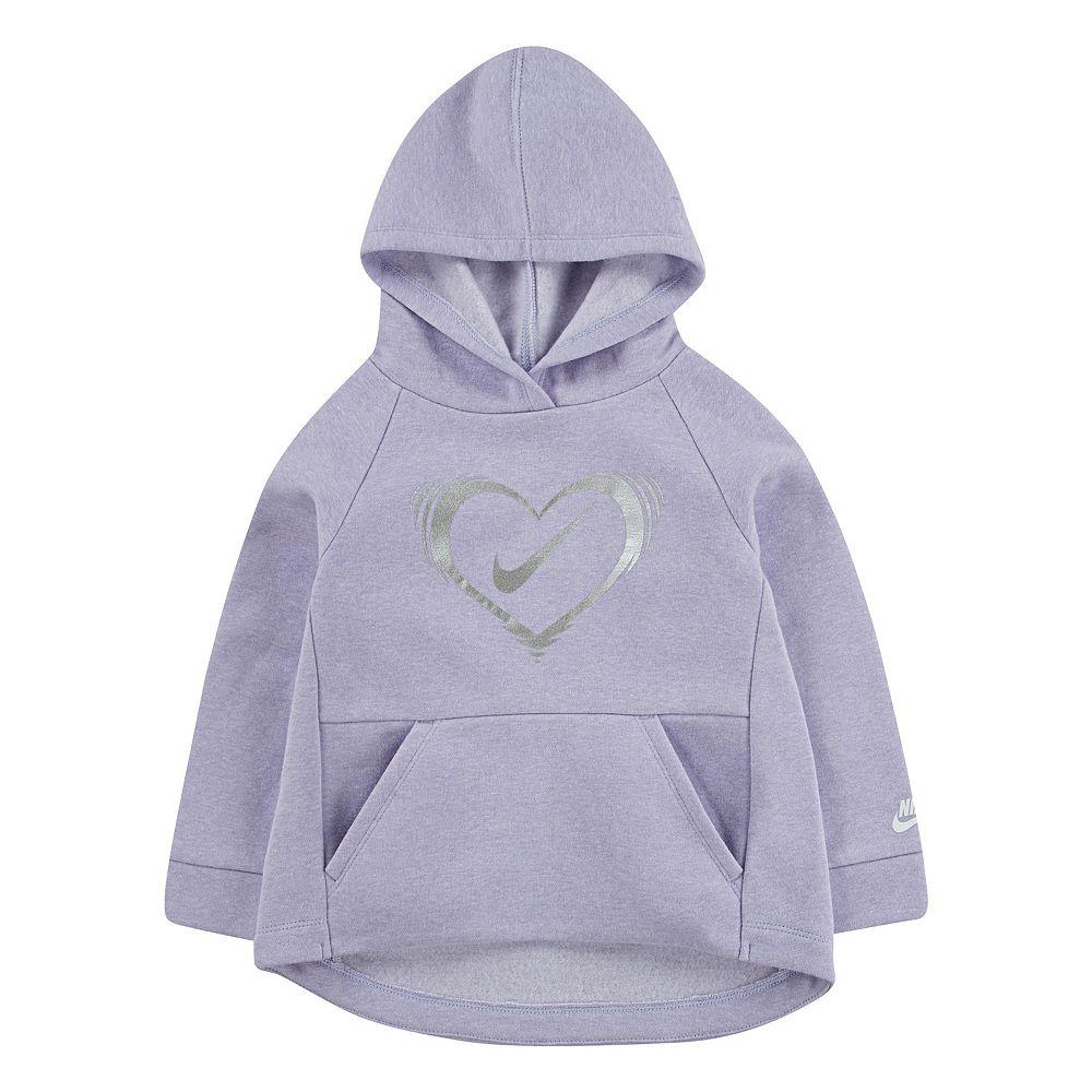 Toddler Girl Nike Lightweight Sueded Fleece Tunic Hoodie