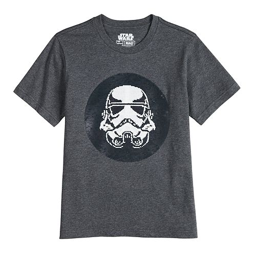 Boys 8-20 Star Wars Stormtrooper Flip Sequin Graphic Tee