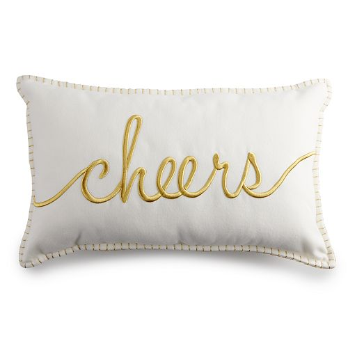 LC Lauren Conrad Cheers Throw Pillow