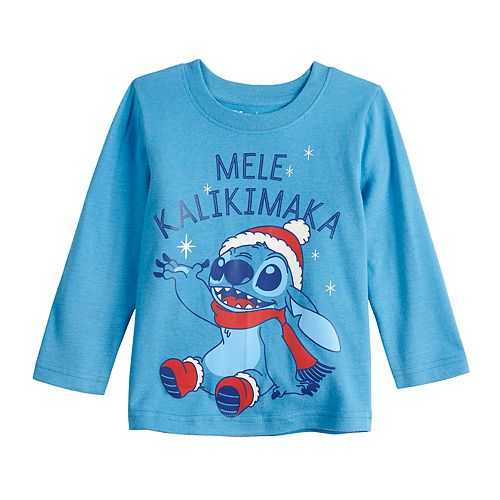 Baby Boy Jumping Beans® Stitch Long-Sleeve Jersey Tee
