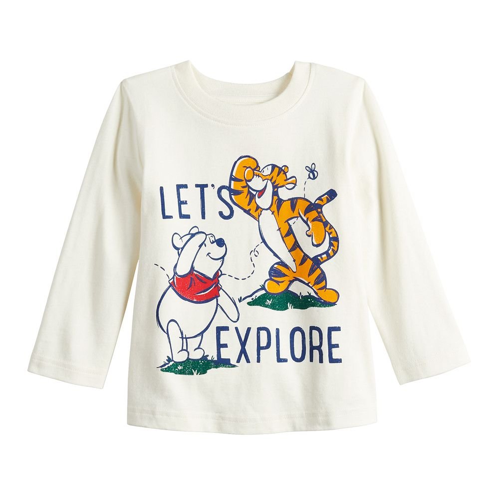 Disney's Winnie The Pooh & Tigger Baby Boy Explore Long-Sleeve Jersey Tee by Jumping Beans®