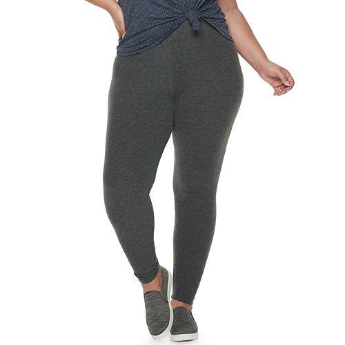 Plus Size SONOMA Goods for Life™ Super Soft Brushed Leggings