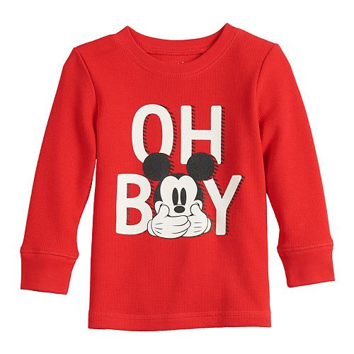 Baby Boy Jumping Beans® Mickey Mouse Long-Sleeve Tee