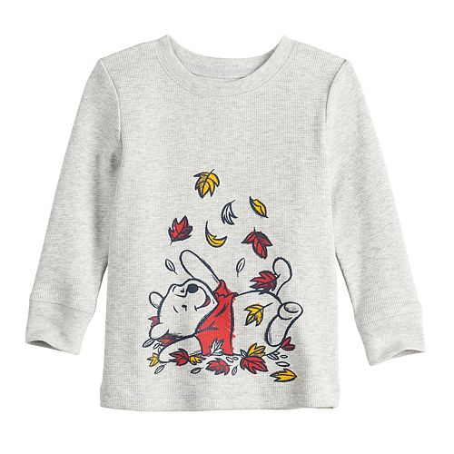 Disney's Winnie The Pooh Baby Boy Leaves Long-Sleeve Tee by Jumping Beans®