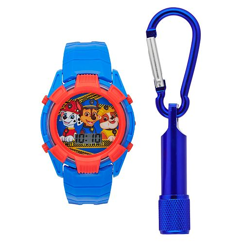 Paw Patrol Kids' Digital Light-Up Watch & Flashlight Set