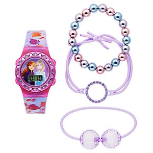 Disney's Frozen 2 Digital Light-Up Watch & Bracelet Set