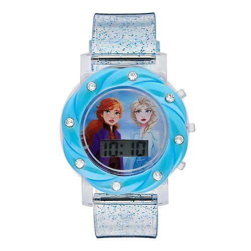 Disney's Frozen 2 Anna & Elsa Kids' Digital Light-Up Watch