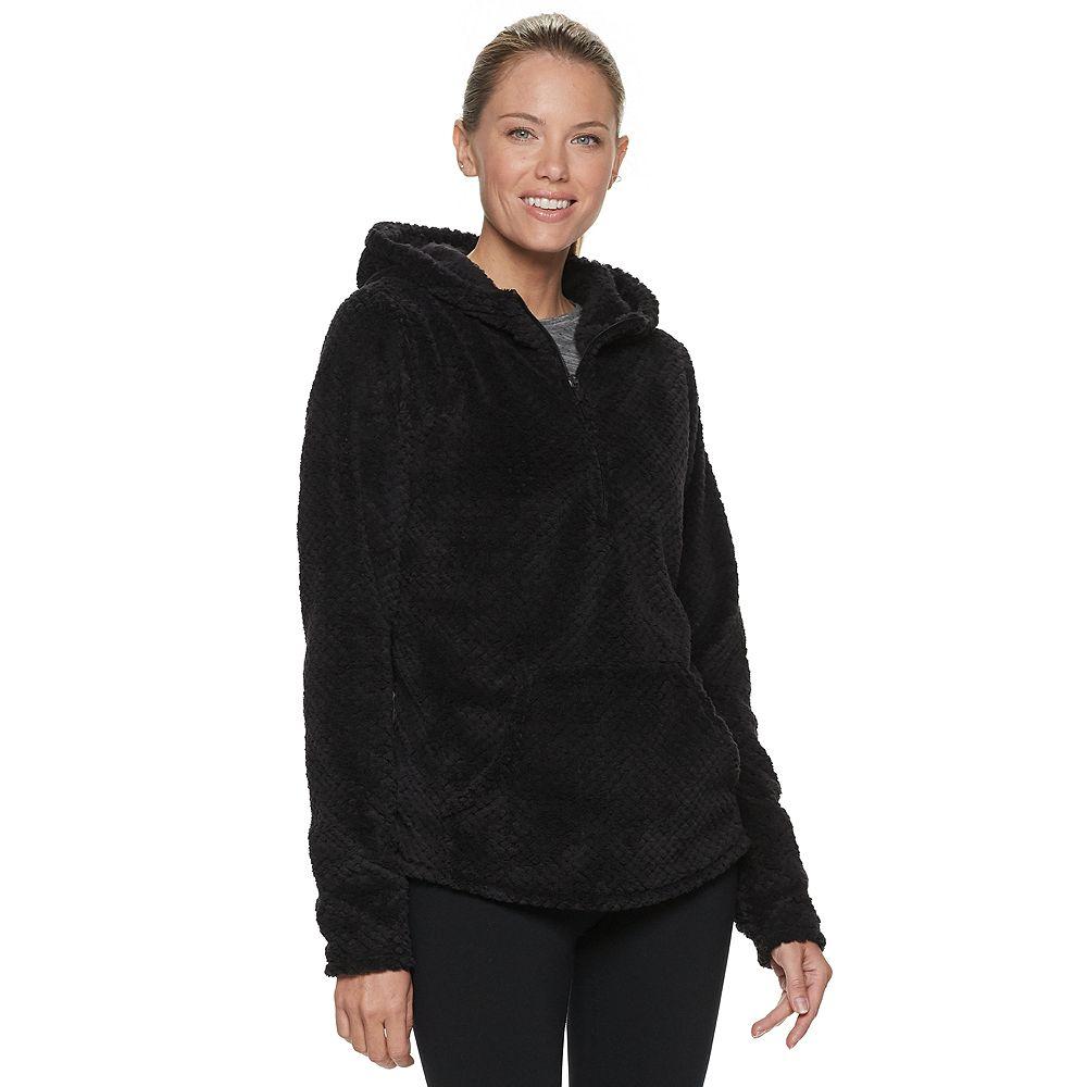Women's Tek Gear® Plush Fleece Half Zip Top