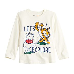 Disney's Winnie The Pooh & Tigger Toddler Boy Explore Graphic Tee by Jumping Beans®