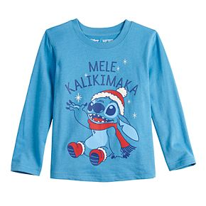 Disney's Lilo & Stitch Toddler Mele Kalikimaka Jersey Tee by Jumping Beans®