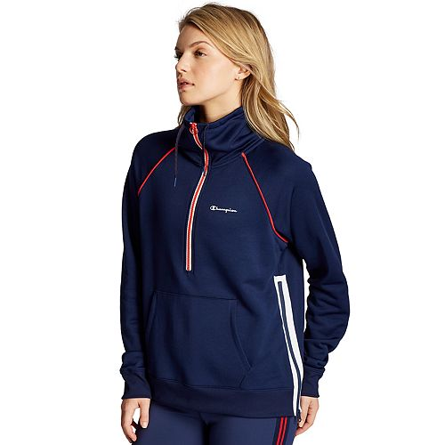 Womens Champion Phys Ed 1/2 Zip Pullover