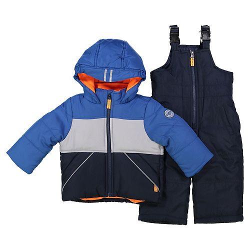 Toddler Boy OshKosh B'gosh® Colorblock Snowsuit