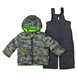 Toddler Boy OshKosh B'gosh® Camo Print Snowsuit