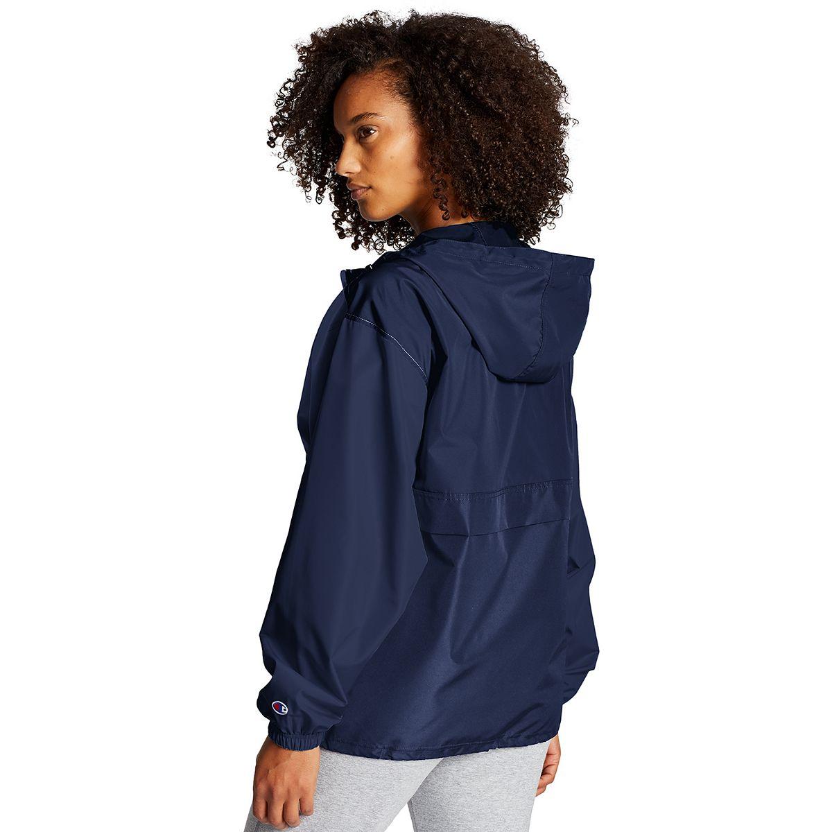 Women's Champion® Packable Jacket Athletic Navy usZwe