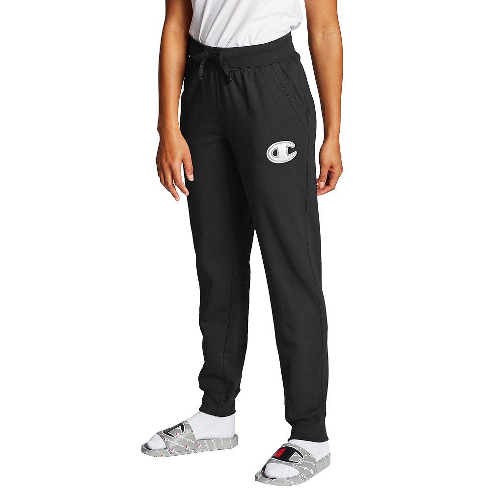 Women's Champion® Powerblend Applique Jogger Pants