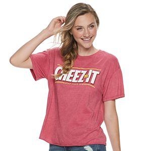 Juniors' Cheez-It Logo Graphic Tee