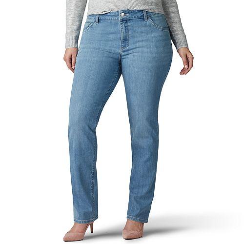 Plus Size Lee Regular Fit Straight Leg Legendary Jean