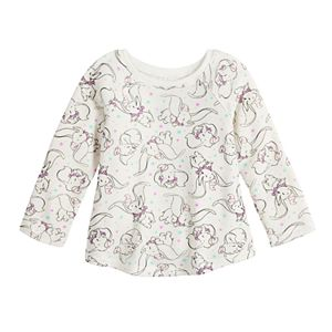Disney's Dumbo Baby Girl Raglan A-Line Thermal Top by Jumping Beans