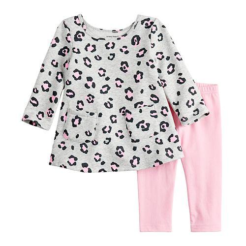 Baby Girl Jumping Beans® Swing Tunic & Leggings Set