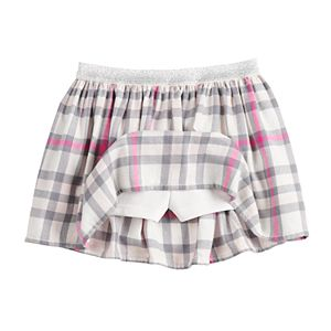 Toddler Girl Jumping Beans® Flannel Skort