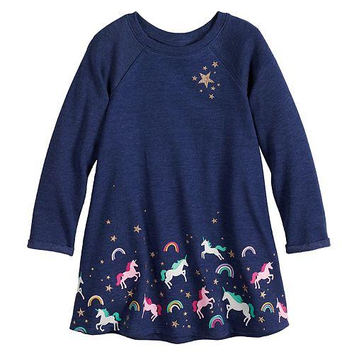 Toddler Girl Jumping Beans® Star Swing Dress