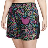 Plus Size Nike 10K Printed Running Shorts