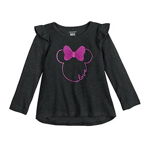 Disney's Minnie Mouse Toddler Girl High-Low Graphic Tee by Jumping Beans®