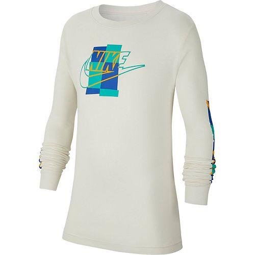 Boys 8-20 Nike Sportswear Color Square Logo Tee