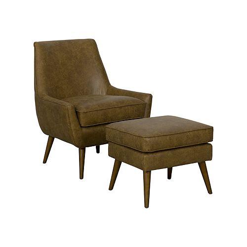 Admirable Homepop Dean Modern Accent Chair Ottoman 3 Piece Set Machost Co Dining Chair Design Ideas Machostcouk