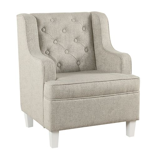 HomePop Kids Tufted Wingback Chair