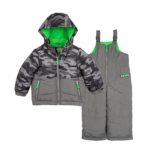 Toddler Boy Carter's Camo Snowsuit
