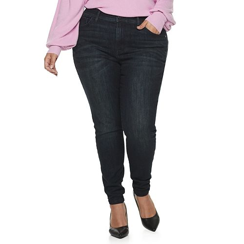 Plus Size EVRI All About Comfort Skinny Jeans