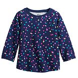 Baby Girl's Jumping Beans® Raglan A-Line Thermal