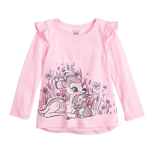 Disney's Bambi Toddler Girl Ruffle Graphic Top by Jumping Beans®