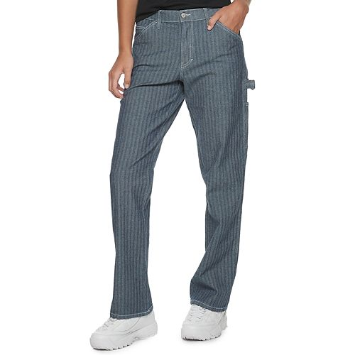 Juniors' Dickies Herringbone Carpenter Pants