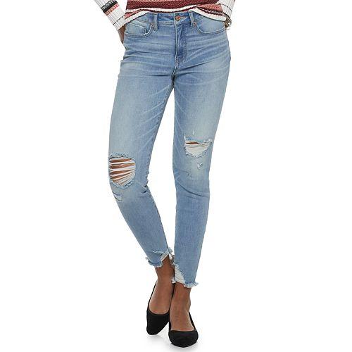 Juniors' Rewash Mid-Rise Skinny Jeans
