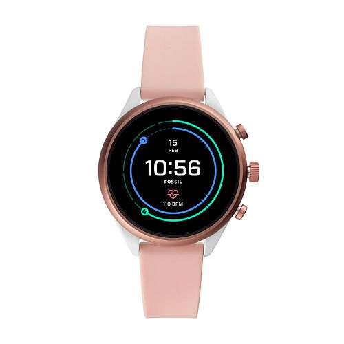 Fossil Gen 4 Silicone Band Smart Watch - FTW6022