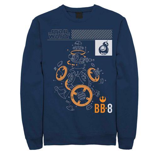 Men's Star Wars BB8 Sweatshirt
